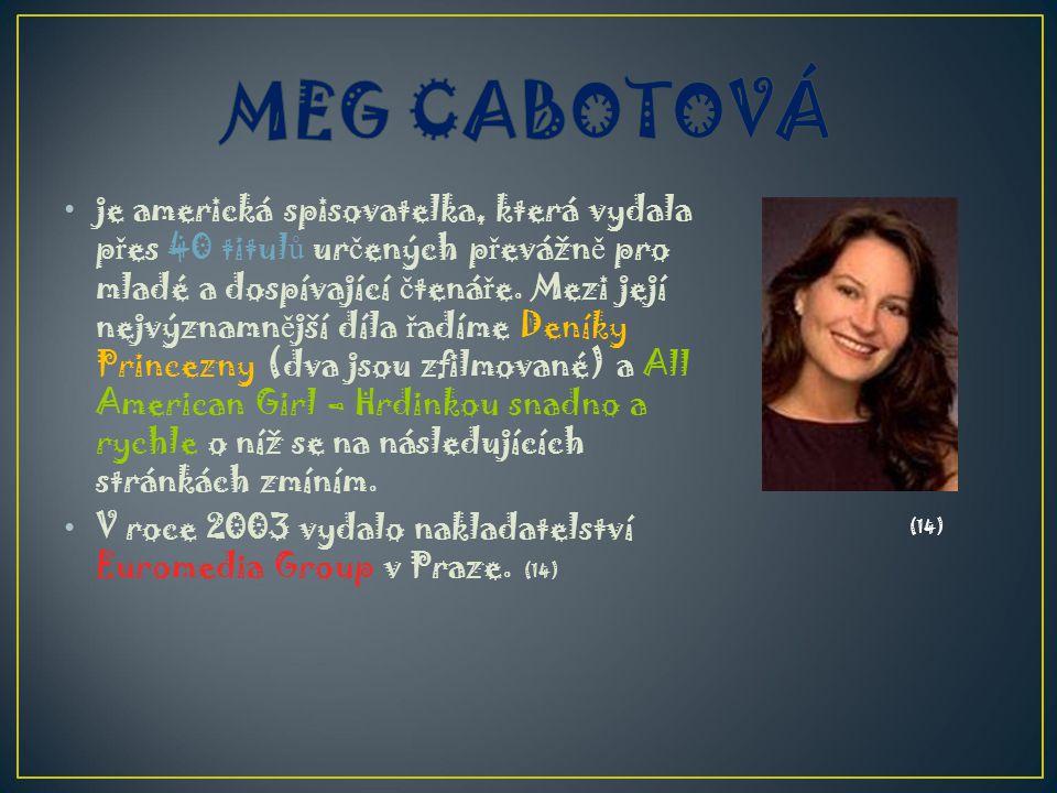 MEG CABOTOVÁ