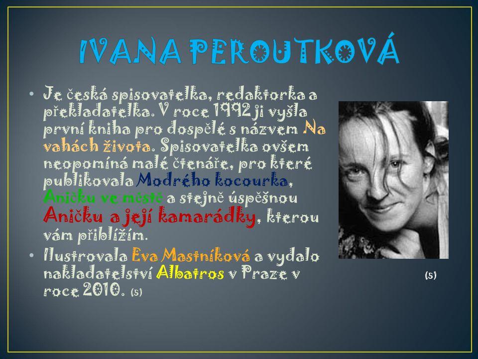 IVANA PEROUTKOVÁ