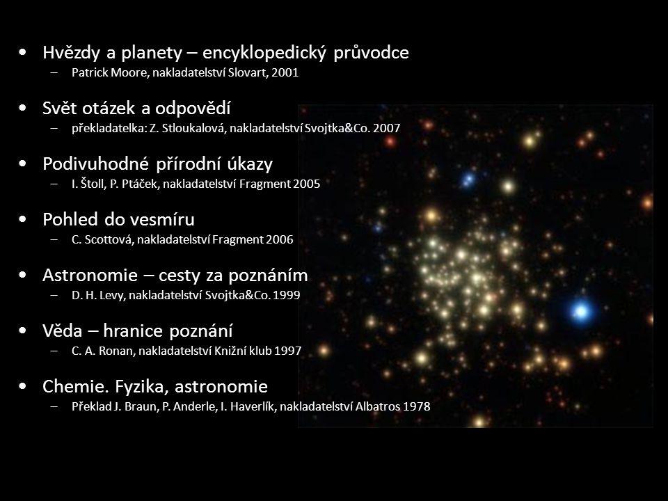 Hvězdy a planety – encyklopedický průvodce Svět otázek a odpovědí