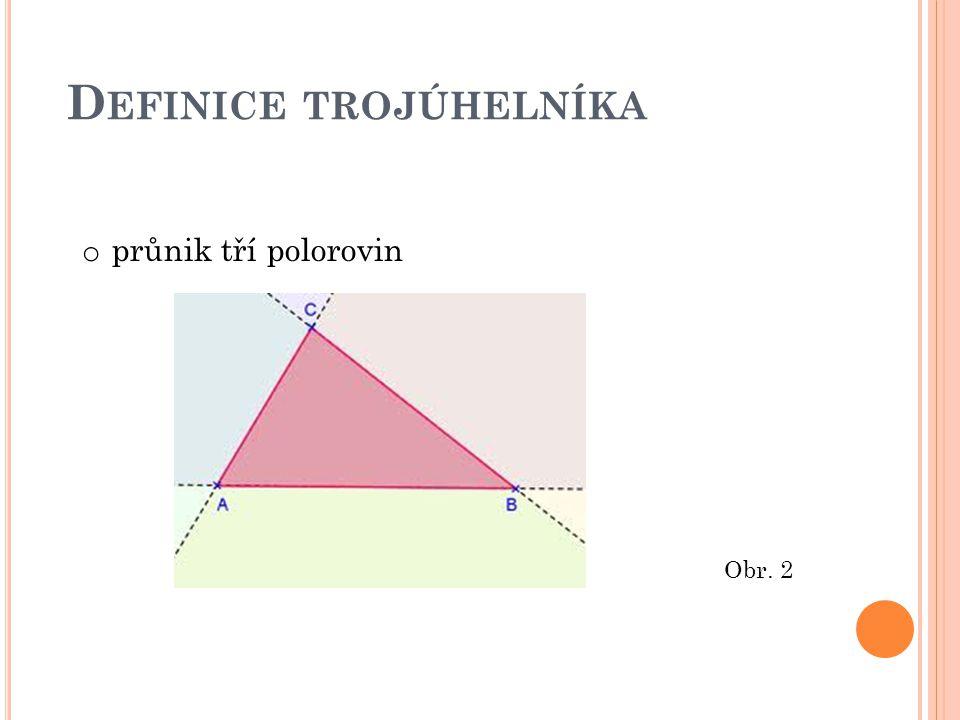 Definice trojúhelníka