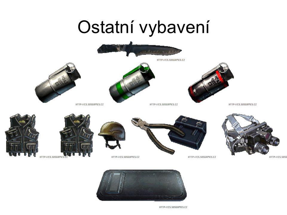 Ostatní vybavení