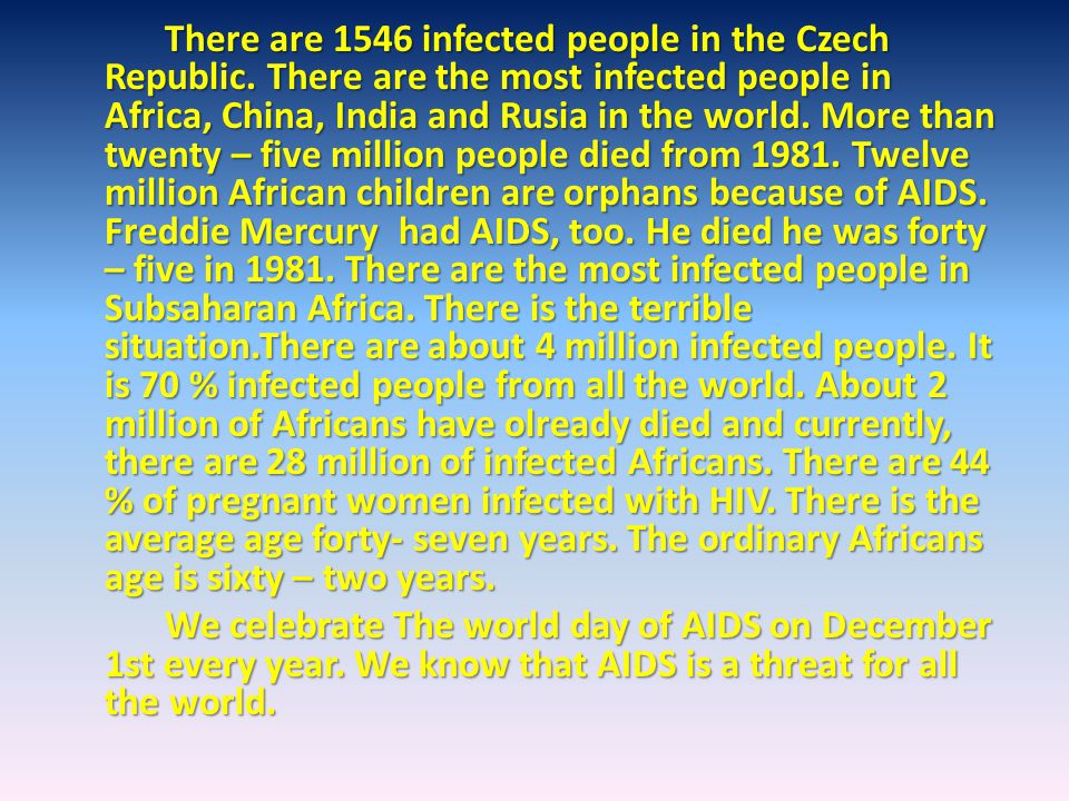 There are 1546 infected people in the Czech Republic