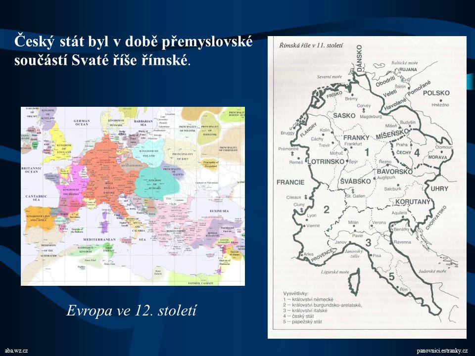 Český stát byl v době přemyslovské součástí Svaté říše římské.