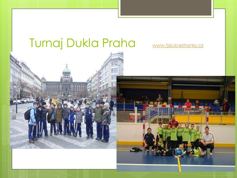 Turnaj Dukla Praha www.tjdub.estranky.cz