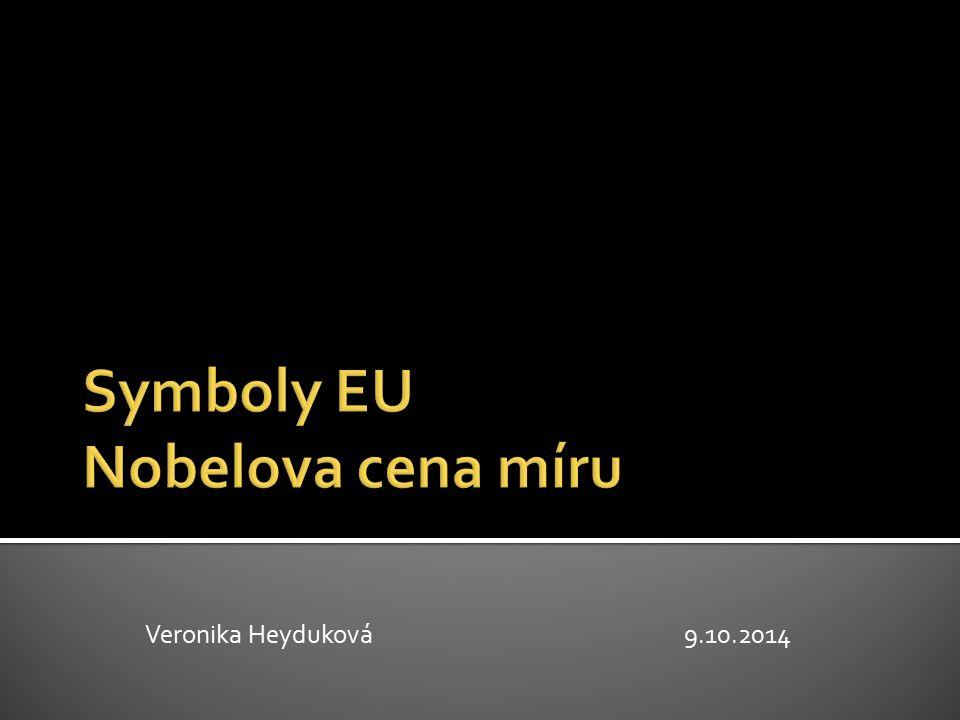 Symboly EU Nobelova cena míru