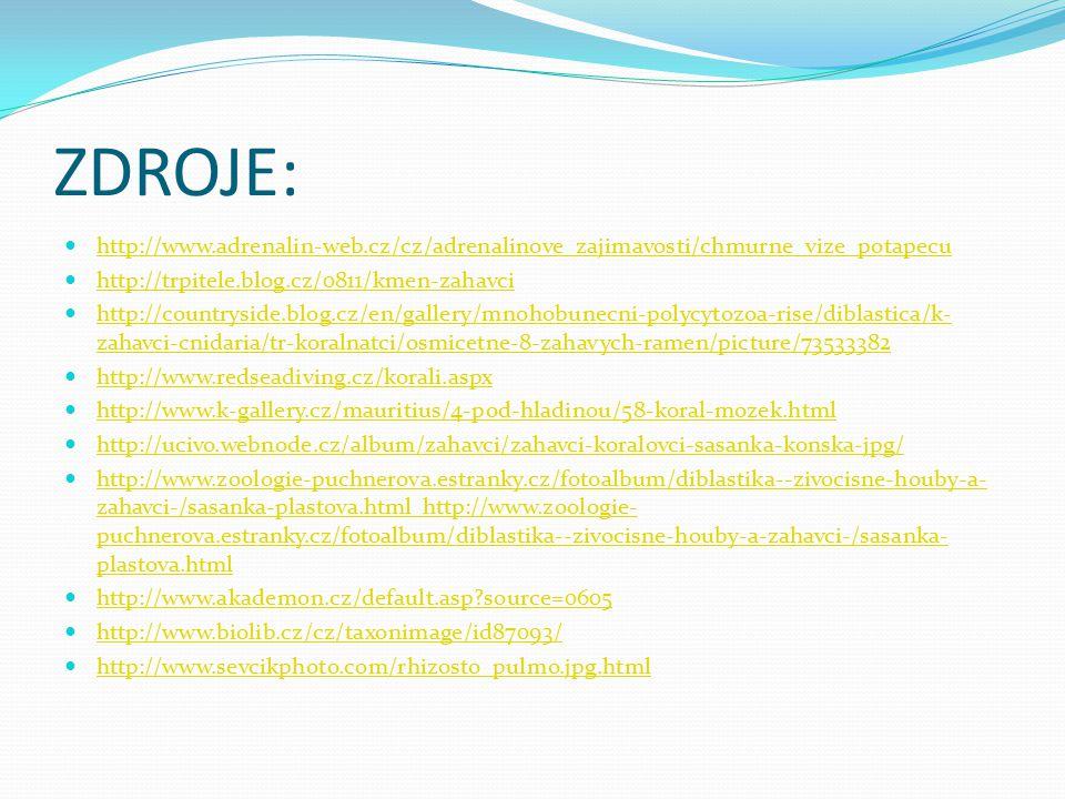 ZDROJE: http://www.adrenalin-web.cz/cz/adrenalinove_zajimavosti/chmurne_vize_potapecu. http://trpitele.blog.cz/0811/kmen-zahavci.