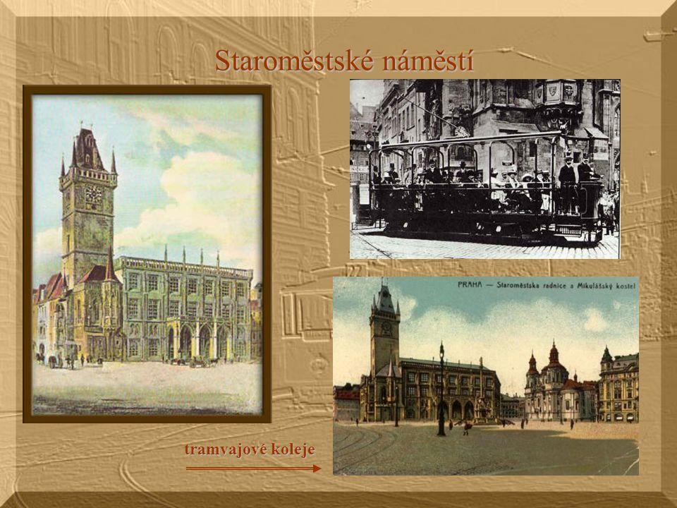 Staroměstské náměstí tramvajové koleje