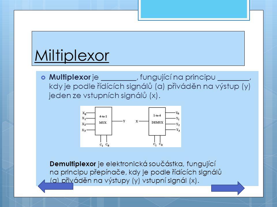 Miltiplexor