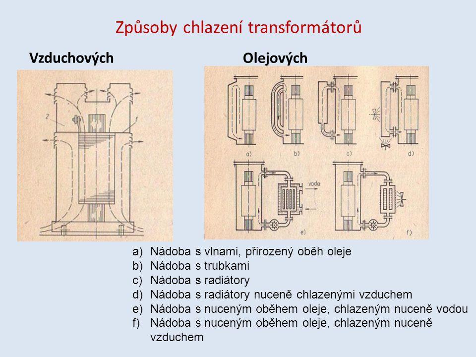 Způsoby chlazení transformátorů