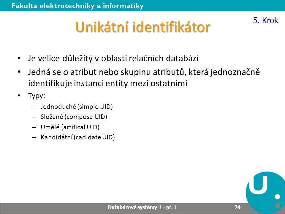 Unikátní identifikátor