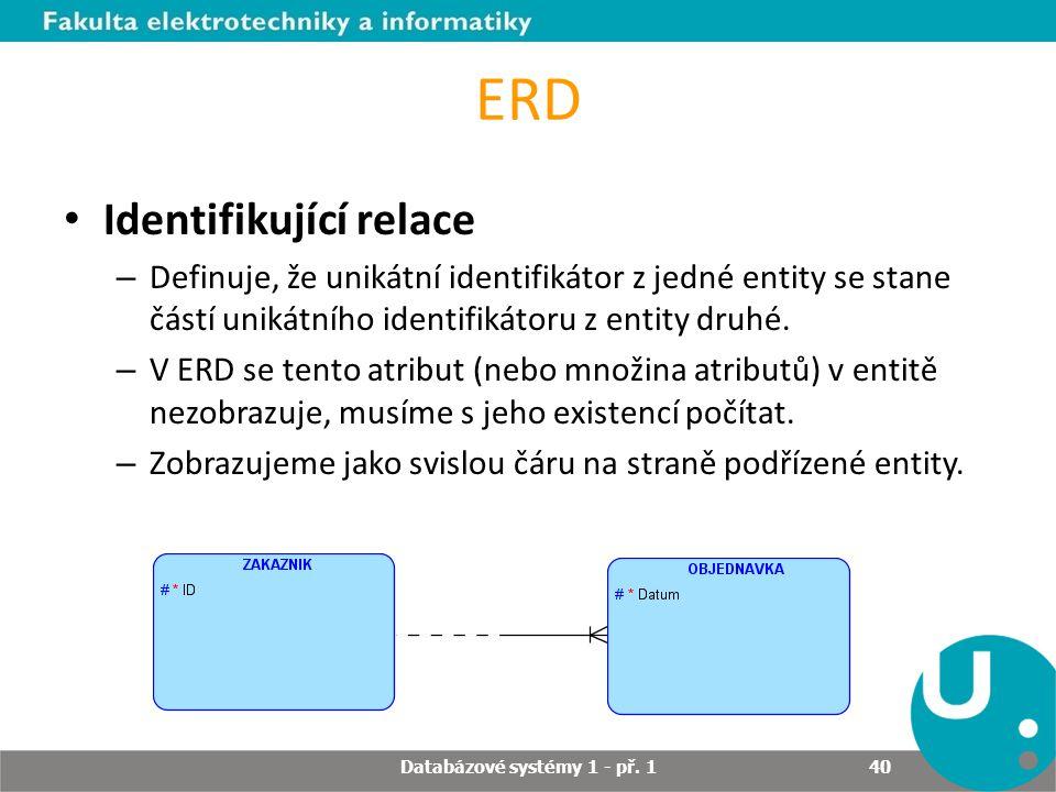 Databázové systémy 1 - př. 1