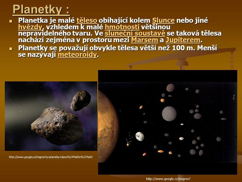 Planetky :