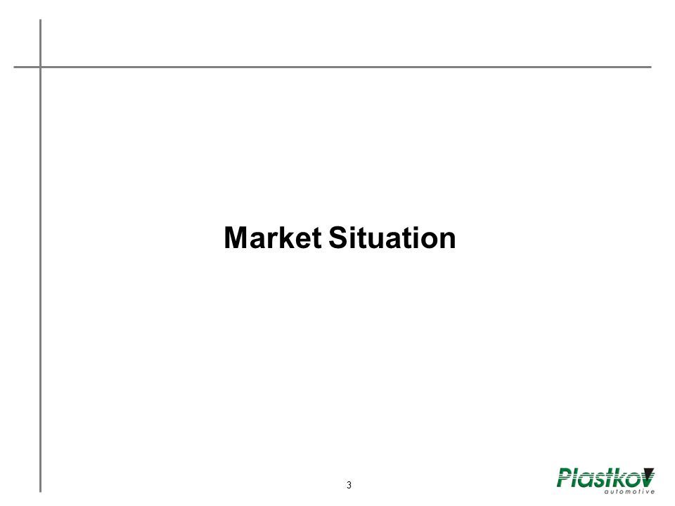 Market Situation 3 3