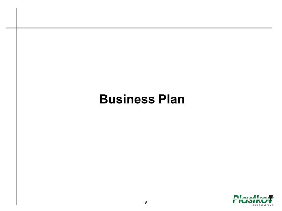 Business Plan 9 8