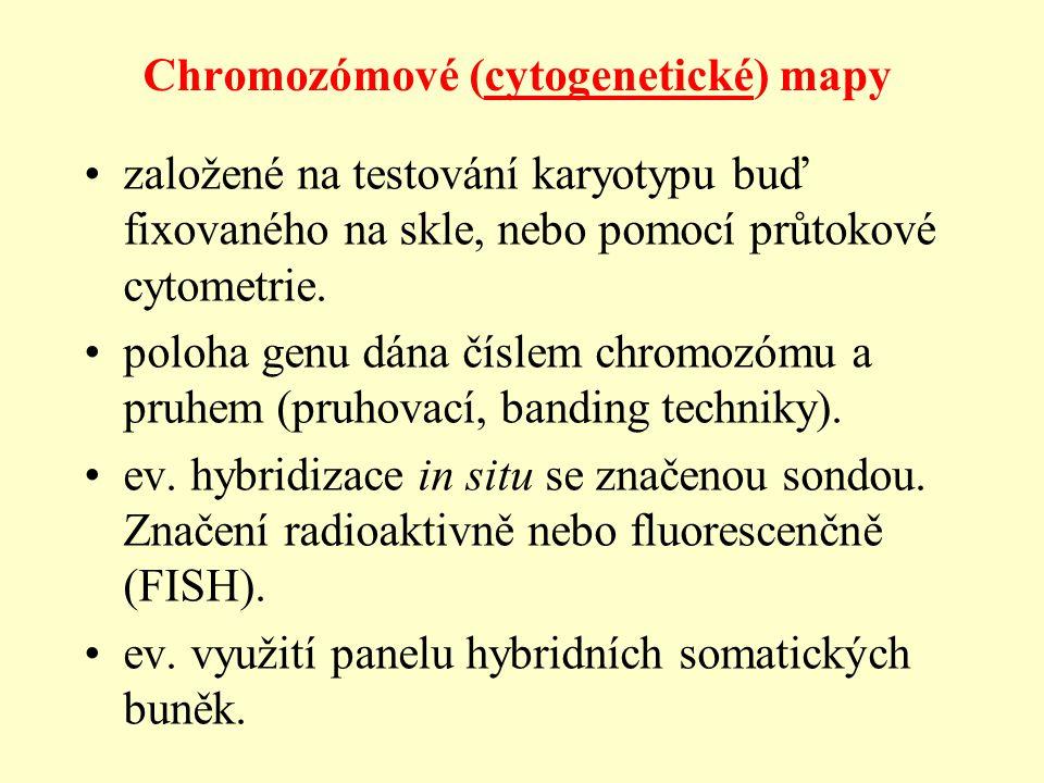 Chromozómové (cytogenetické) mapy