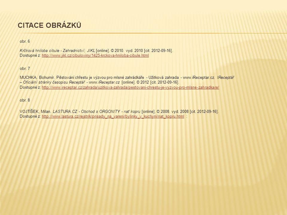 CITACE OBRÁZKŮ obr. 6.