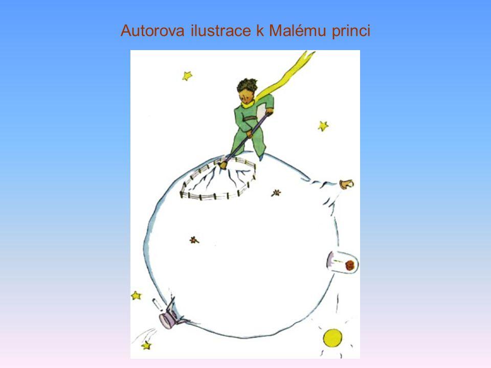 Autorova ilustrace k Malému princi