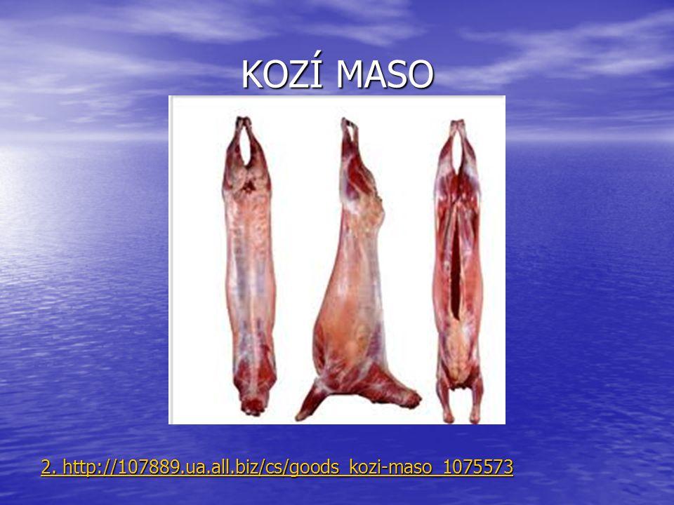 KOZÍ MASO 2. http://107889.ua.all.biz/cs/goods_kozi-maso_1075573