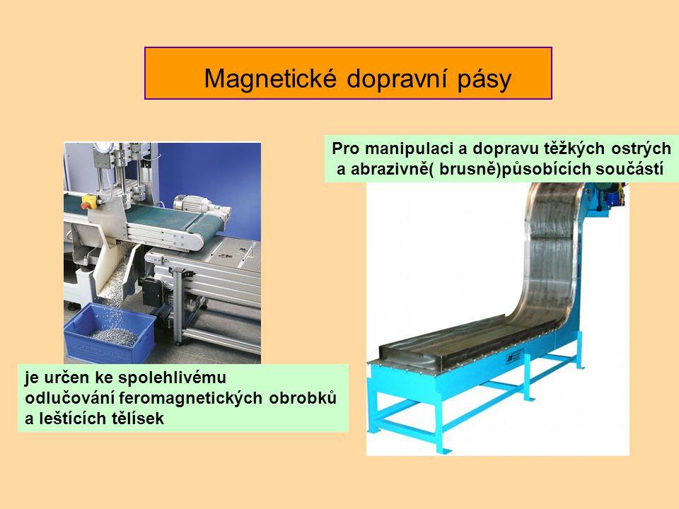 Magnetické dopravní pásy