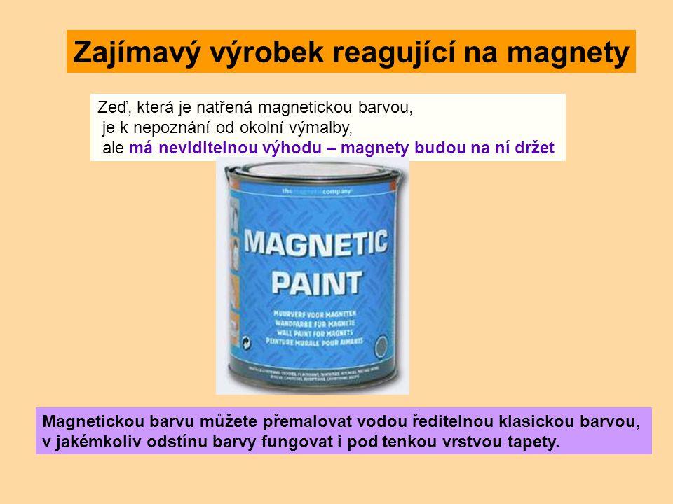 Zajímavý výrobek reagující na magnety