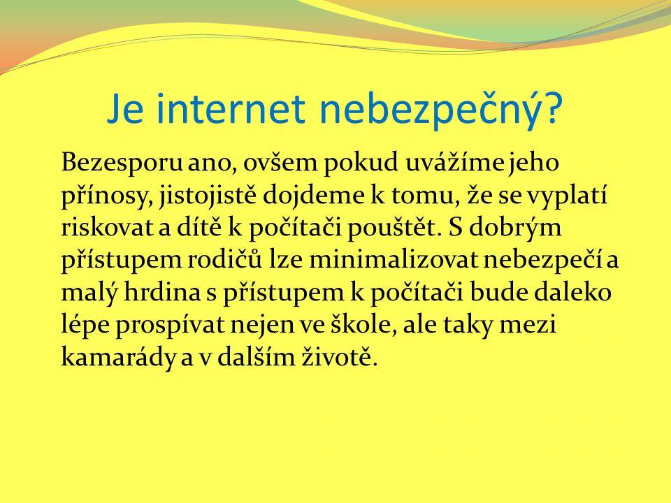 Je internet nebezpečný