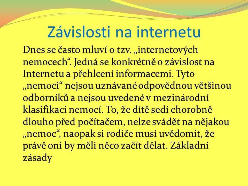 Závislosti na internetu