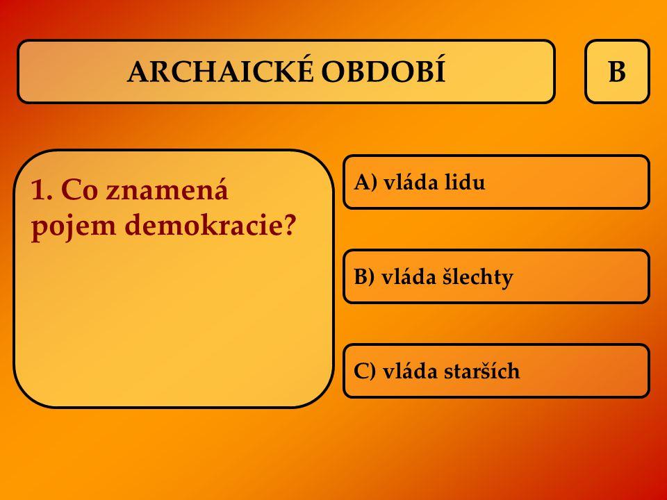 1. Co znamená pojem demokracie