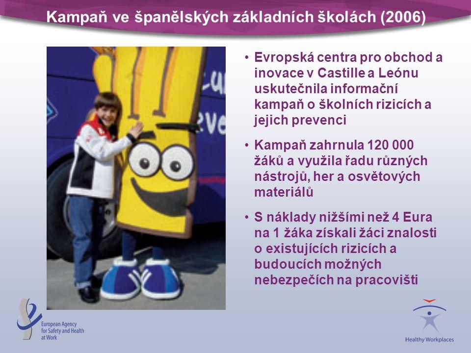 Kampaň ve španělských základních školách (2006)