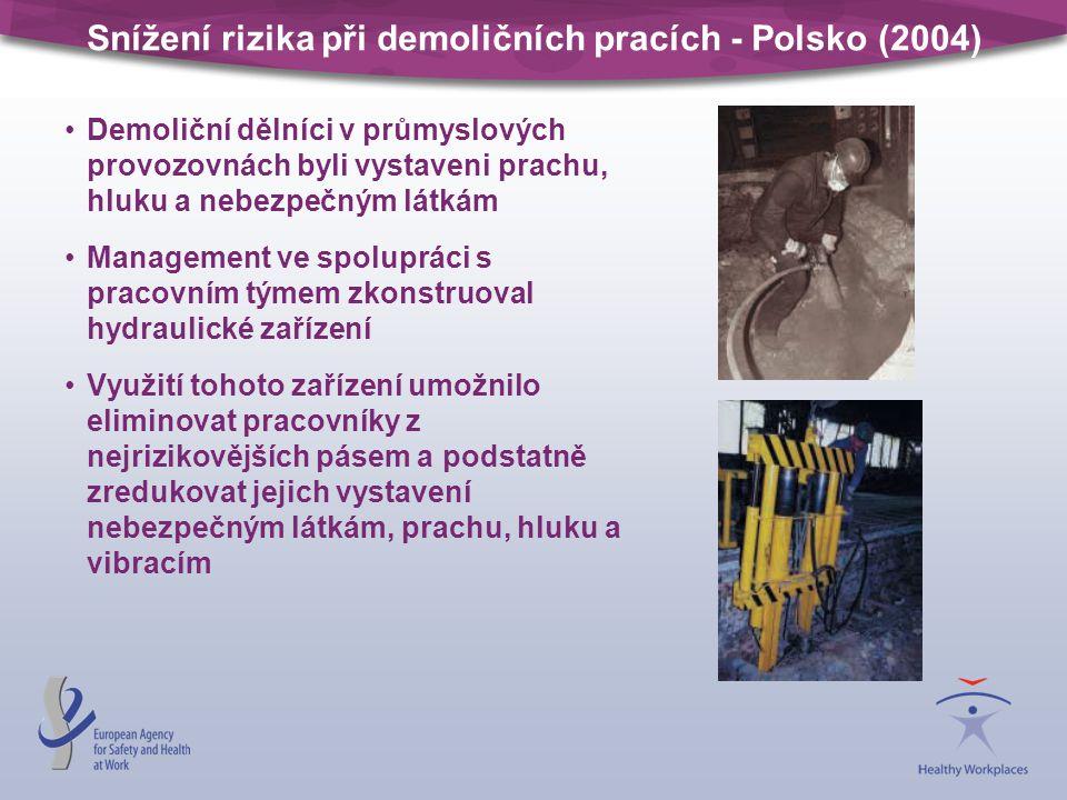 Snížení rizika při demoličních pracích - Polsko (2004)