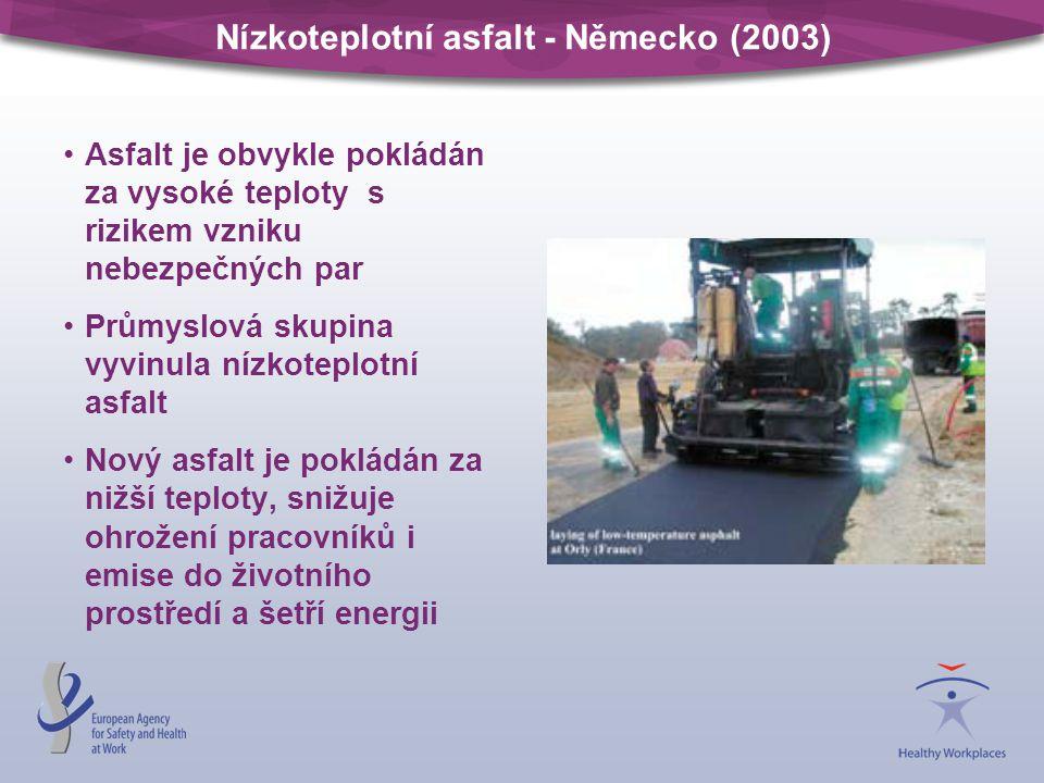 Nízkoteplotní asfalt - Německo (2003)