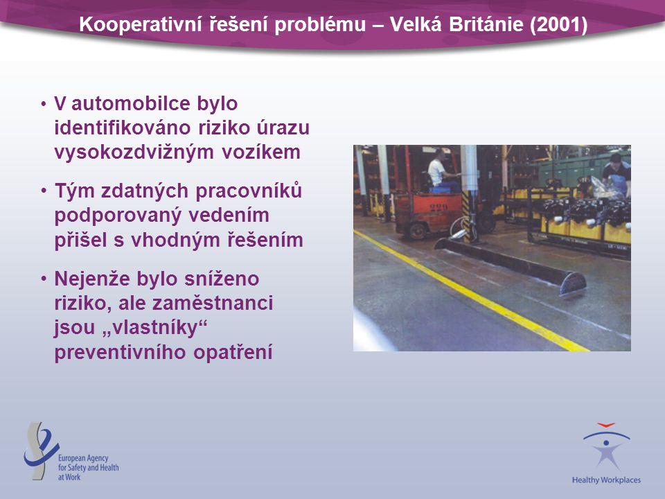 Kooperativní řešení problému – Velká Británie (2001)