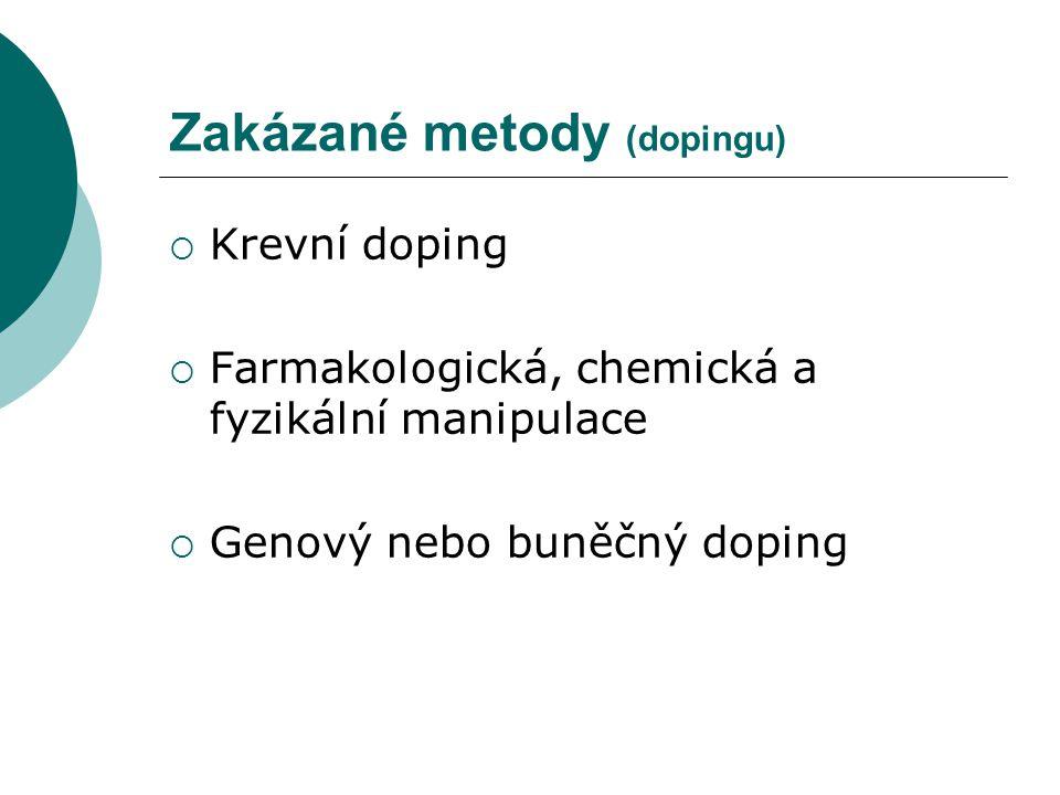 Zakázané metody (dopingu)