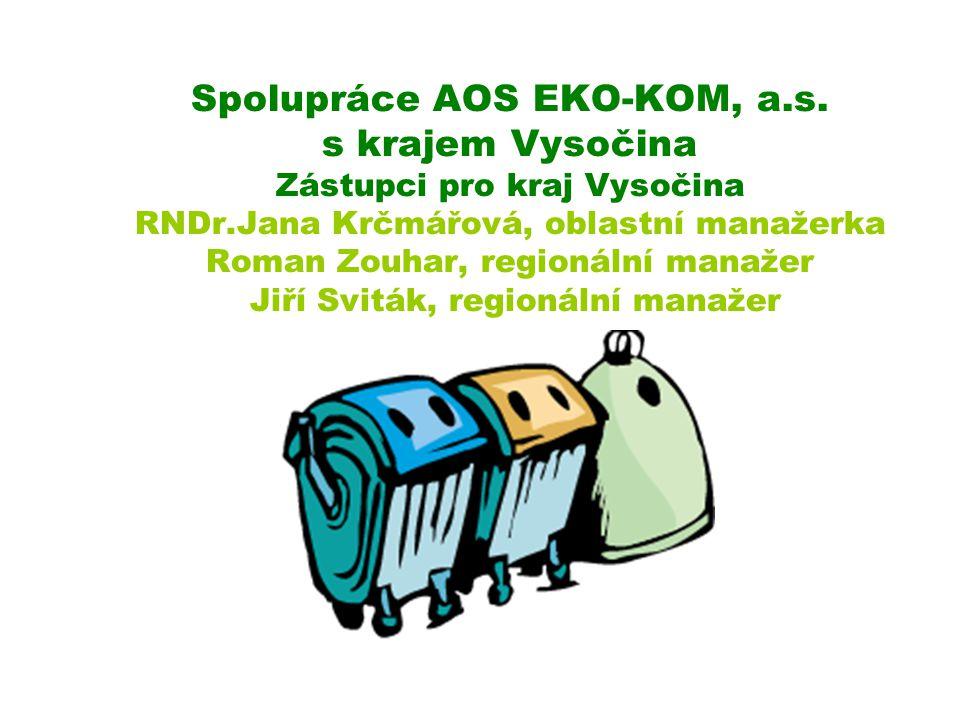 Spolupráce AOS EKO-KOM, a. s