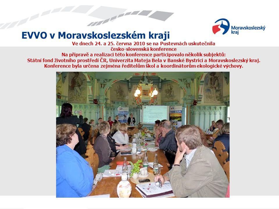Ve dnech 24. a 25. června 2010 se na Pustevnách uskutečnila česko-slovenská konference Na přípravě a realizaci této konference participovalo několik subjektů: Státní fond životního prostředí ČR, Univerzita Mateja Bela v Banské Bystrici a Moravskoslezský kraj.