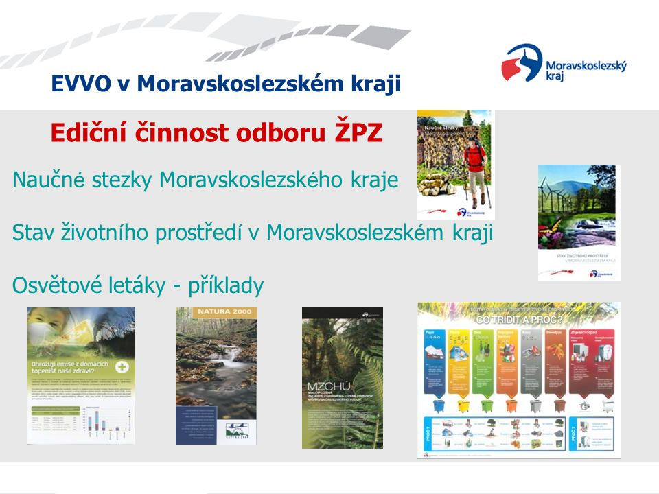 Ediční činnost odboru ŽPZ