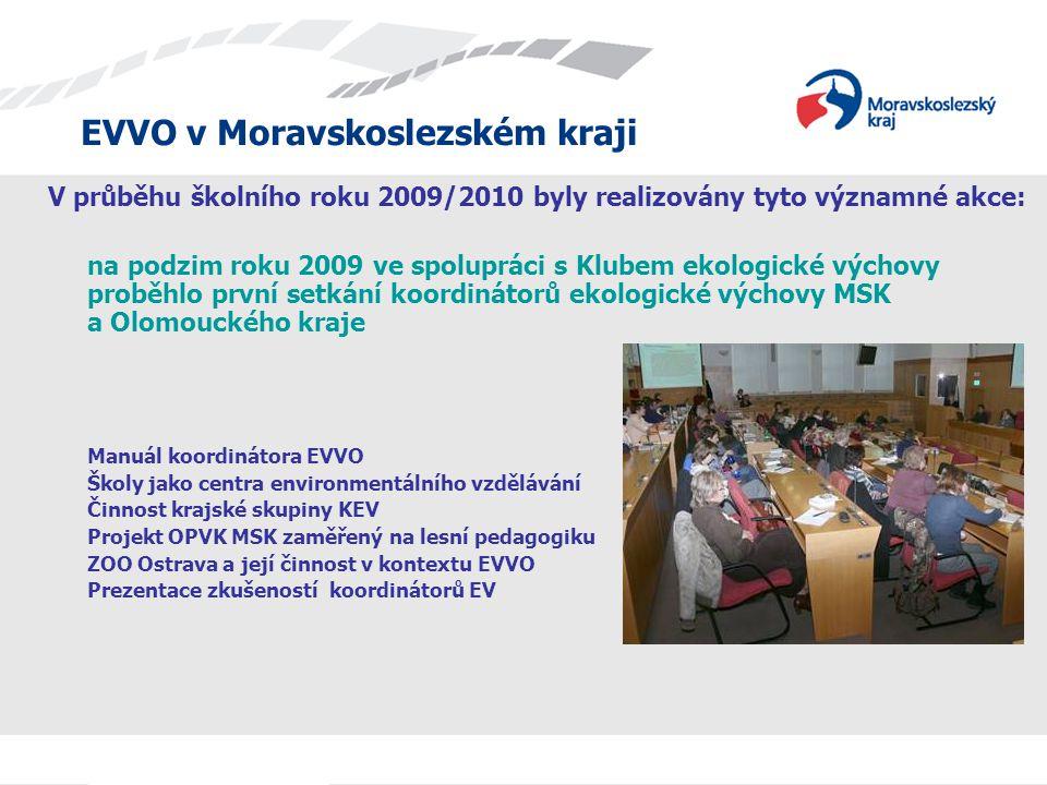 V průběhu školního roku 2009/2010 byly realizovány tyto významné akce: