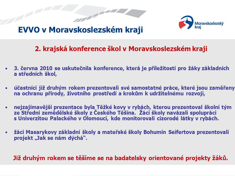 2. krajská konference škol v Moravskoslezském kraji