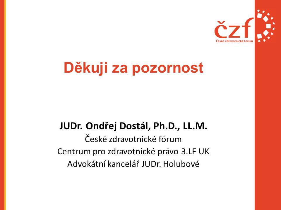 JUDr. Ondřej Dostál, Ph.D., LL.M.