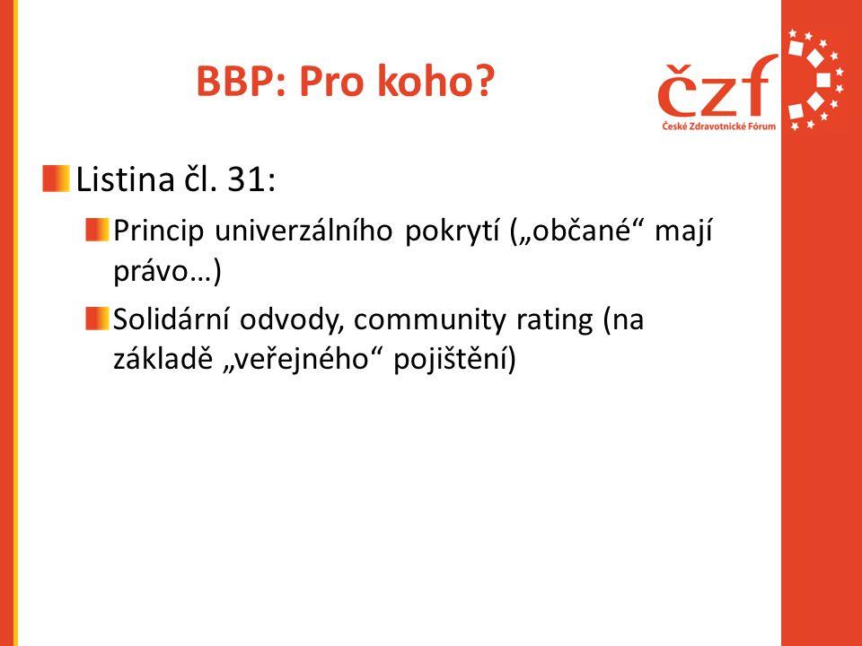 BBP: Pro koho Listina čl. 31: