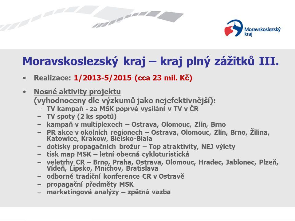 Moravskoslezský kraj – kraj plný zážitků III.