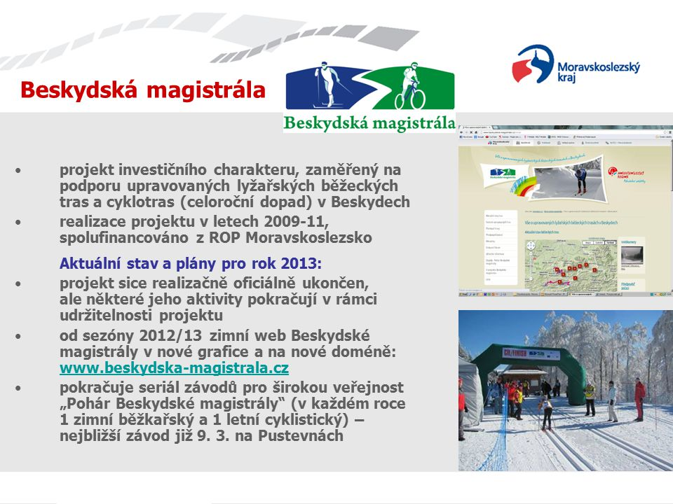Jednání s TIC Beskydská magistrála.