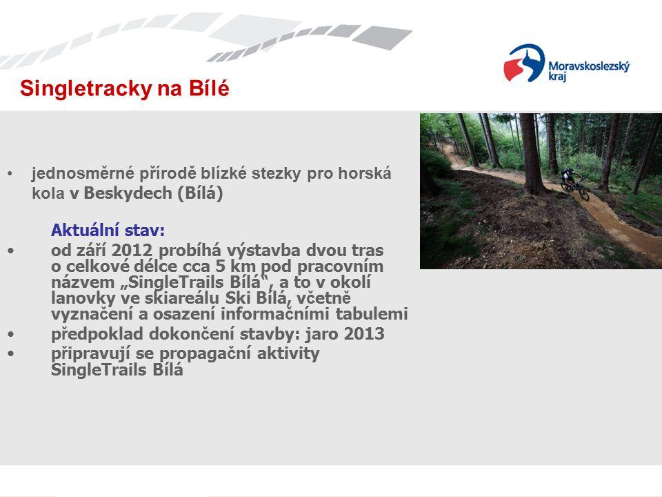 Jednání s TIC Singletracky na Bílé. jednosměrné přírodě blízké stezky pro horská kola v Beskydech (Bílá)