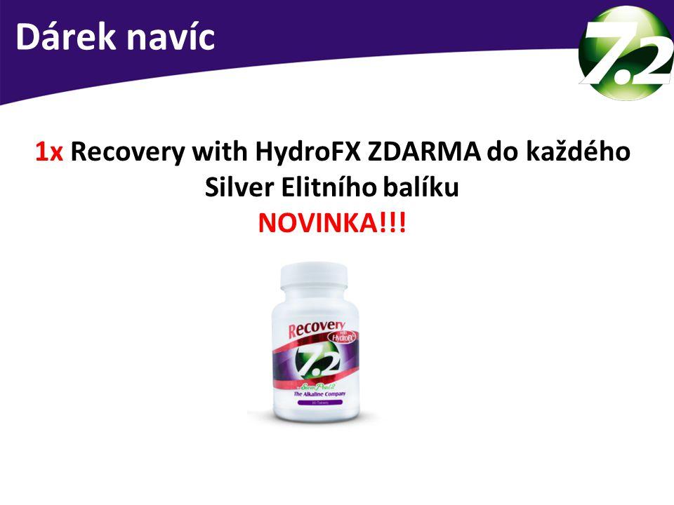 1x Recovery with HydroFX ZDARMA do každého Silver Elitního balíku