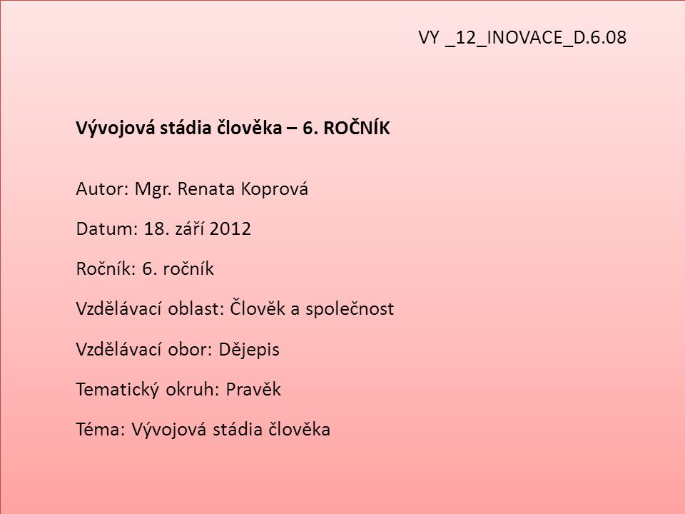 VY _12_INOVACE_D.6.08