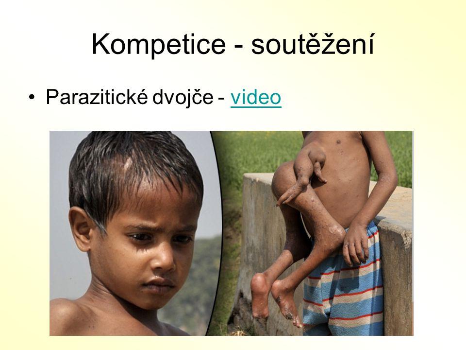 Kompetice - soutěžení Parazitické dvojče - video