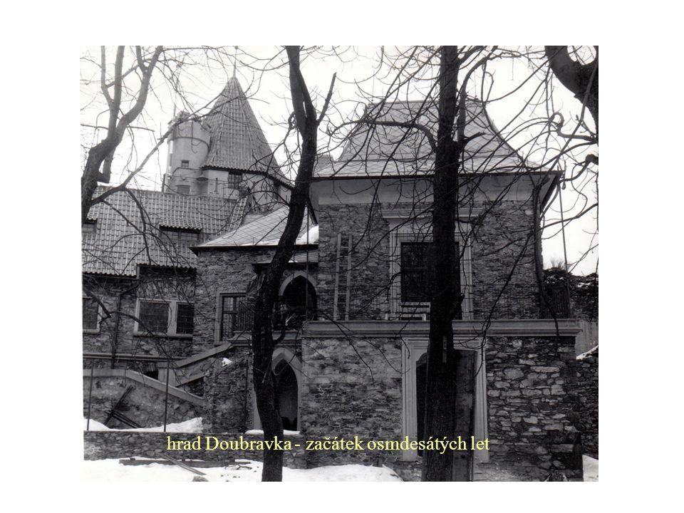 hrad Doubravka - začátek osmdesátých let