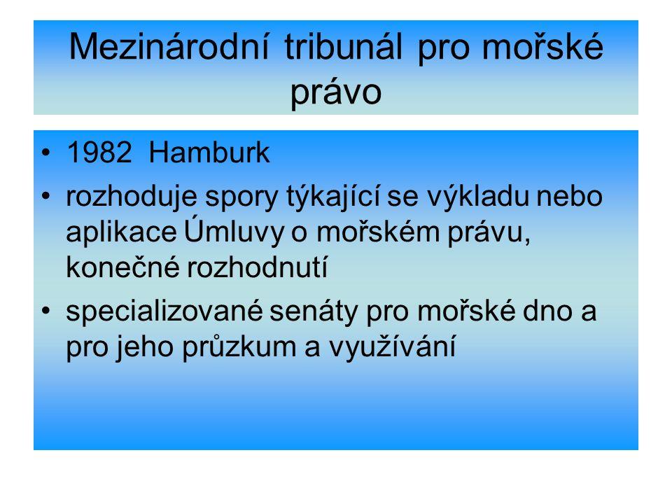 Mezinárodní tribunál pro mořské právo