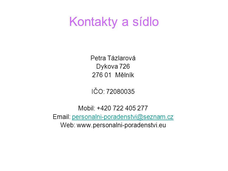 Email: personalni-poradenstvi@seznam.cz
