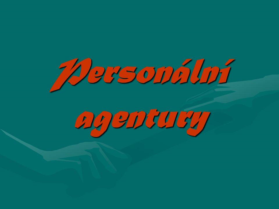 Personální agentury