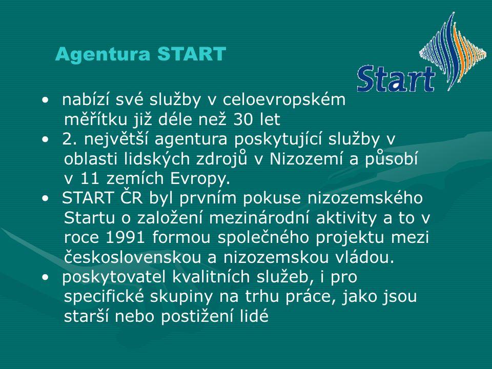Agentura START nabízí své služby v celoevropském